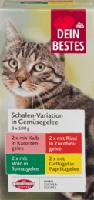 Nassfutter für Katzen, Vorteilspack Schale in Gemüse-Geleé, 8 x 100g