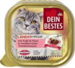 Länderreise Italien Nassfutter für Katzen, mit Kalb & Käse in mediterraner Tomaten-Sauce
