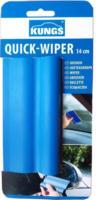 KUNGS Quick-Wiper, Kondenswasser Abzieher, 14,00 cm lang, in blau, 1 Stück