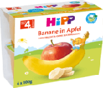 Früchtebecher Banane in Apfel nach dem 4. Monat, 4x100g