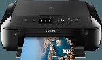 Multifunktionsdrucker - Canon PIXMA MG5750 Tintenstrahl 3-in-1 Tinten-Multifunktionsgerät WLAN Netzwerkfähig