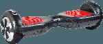 Self Balancing Scooter - City Blitz BBOARD CB 007T inkl. Fernbedienung, Tragetasche & Schutzset selbststabilisierendes Fahrzeug (6.5 Zoll, Carbon)