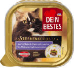 Nassfutter für Katzen Sternenküche, Zarte Stückchen mit Lachs an Kräuter-Sahne-Creme