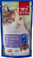 Snack für Katzen, Fisch-Minis mit Lachs & wertvollen Omega-Fettsäuren
