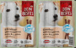 Light Snack für Hunde, Knabberwürstchen Light mit Pute und Lamm