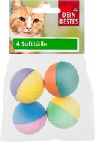 Zubehör für Katzen, Soft-Bälle