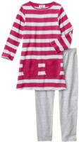 Mädchen-Kleid und Leggings