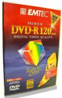 Emtec Premium DVD-R 120min 4.7GB