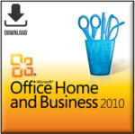 Microsoft Office 2010 Home & Business ESD, Download Software inkl. Lizenz