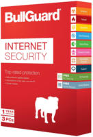 BullGuard Internet Security - 3 PC, 1 Jahr