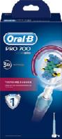 elektrische Zahnbürste PRO 700 Tiefen-Reinigung