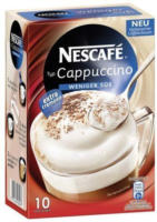 NESCAFÉ Cappuccino weniger süss