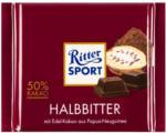 Ritter SPORT Schokolade Halbbitter