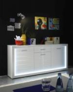 Sideboard Starlight weiß 180 x 92 x 41