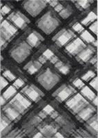 Teppich Melbourne ca. 80 x 150 cm grau
