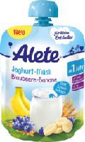Quetschbeutel Joghurt-Müsli Blaubeere-Banane ab 1 Jahr