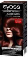 Syoss Haarcoloration 4-2 Mahagoni Stufe 3