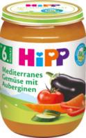 Gemüse Mediterranes Gemüse mit Auberginen ab 6. Monat