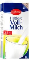 MILBONA Haltbare Voll-Milch 3,5 % Fett