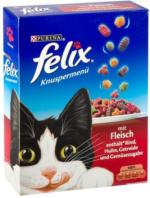 FELIX Knuspermenü für Katzen mit Fleisch