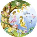 Teppich Lovely Kids ca. 100 cm rund LK-2 multi