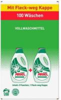 ARIEL Flüssigwaschmittel Regulär, 2 x 50 WL