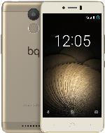 Smartphones - BQ Aquaris U Plus 16 GB Weiß/Gold Dual SIM