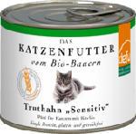 Nassfutter für Katzen, Truthahn, Sensitive, getreidefrei 12x200g