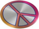 Linsen für Alufelgen mit Peace Motiv, 56 mm Durchmesser,  4 Stück