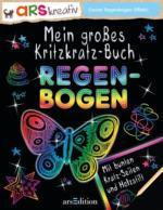 ars Edition - Mein großes Kritzkratz Buch - Regenbogen
