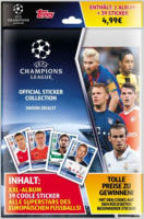 Top Media / Durchgeknallt - Starterset UEFA Champions League - Album mit Stickern