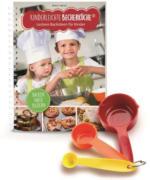 DS Produkte - Kinderleichte Becherküche - Backen nach Bildern - 4 Teile: Buch + 3 Messbecher