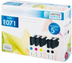 UNITED OFFICE® Tintenpatronen-Multipack E071