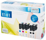 UNITED OFFICE® Tintenpatronen-Multipack E181