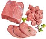 Frische Kalbsschnitzel, Kalbsbraten oder Kalbsgulasch