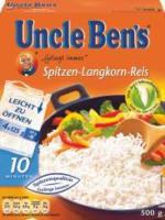 Uncle Ben's Reis im Kochbeutel