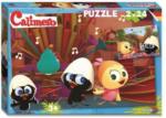 Noris-Spiele - Kinderpuzzle Set - Calimero - 2 x 24 Teile