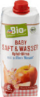 Apfel-Birnen Saft mit stillem Wasser ab dem 6. Monat