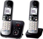 KX-TG6822GB Schnurlostelefon mit Anrufbeantworter schwarz