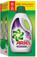 ARIEL Flüssigwaschmittel Color XXL, 2 x 50 WL