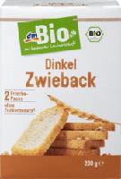 dmBio Dinkel Zwieback