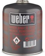 Weber Gas-Kartusche Geeignet für Weber Q 100-/1000 - Serie, Go-Anywhere Gas und Performer Deluxe GBS Gourmet