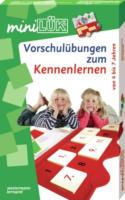 Westermann Lernspielverlag - Mini Lük Set - Vorschulübungen zum Kennenlernen - mit Lösungsgerät und Heft