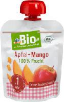 Apfel-Mango im Quetschbeutel ab 1 Jahr