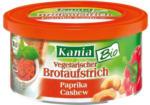 KANIA Vegetarischer Bio Brotaufstrich Paprika-Cashew