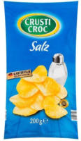 CRUSTI CROC Chips Salz