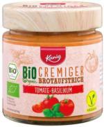 KANIA Cremige Bio-Aufstriche Tomate&Basilikum