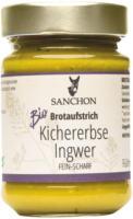 """Brotaufstrich """"Kichererbse Ingwer"""""""