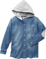 Jungen-Hemd mit Kapuze