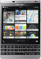 Smartphones - Blackberry Passport Silver Edition 32 GB Schwarz/Silber